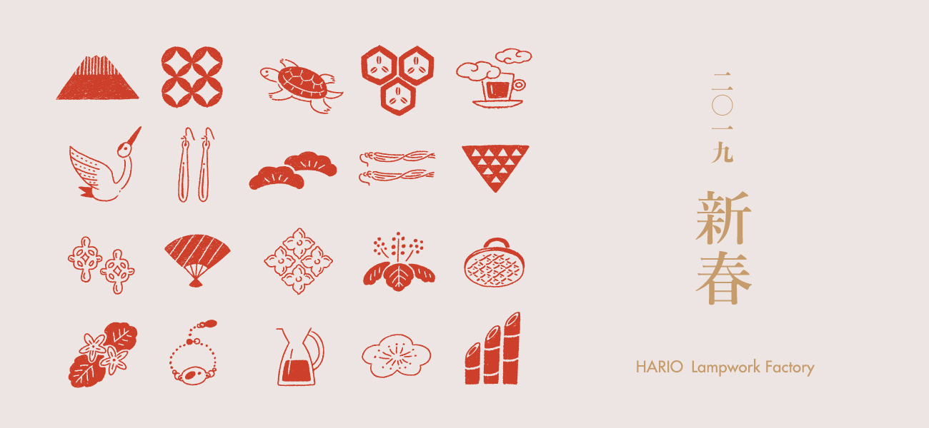 HARIO Lampwork Factoryの新春フェア