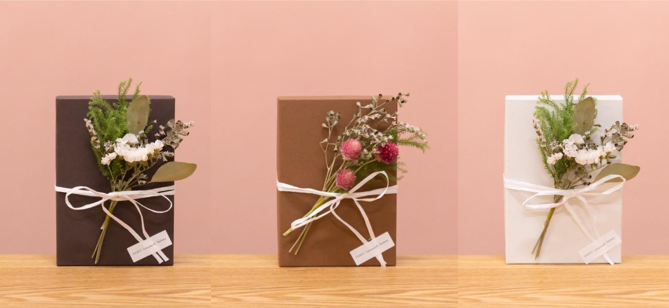 期間限定有料ラッピングとadmi BOXのご紹介(母の日フェア・admiフェア)